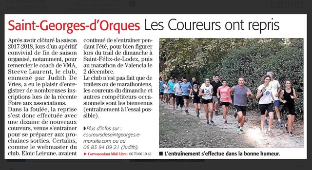 Article midi libre 11 09 18