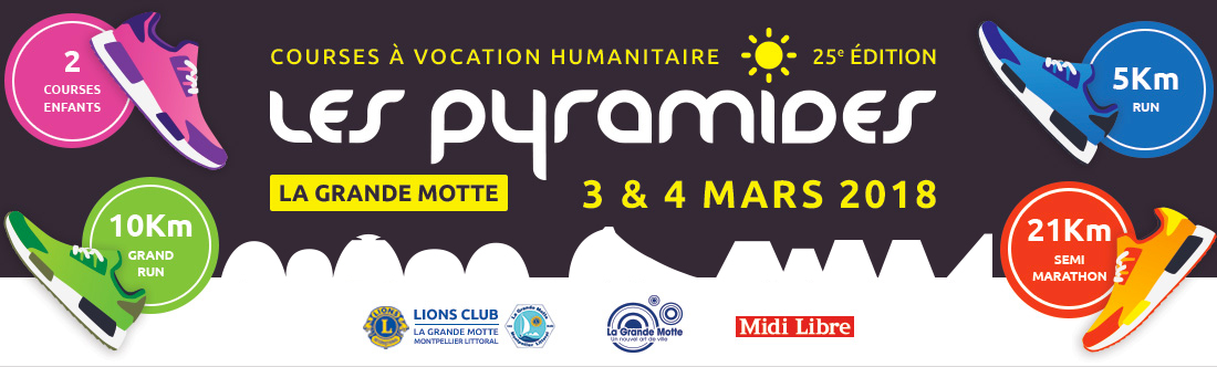 La course des pyramides 2018