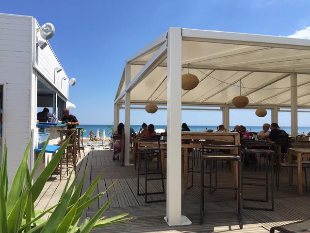 Restaurant plage privee le spot frontignan bassin de thau 3